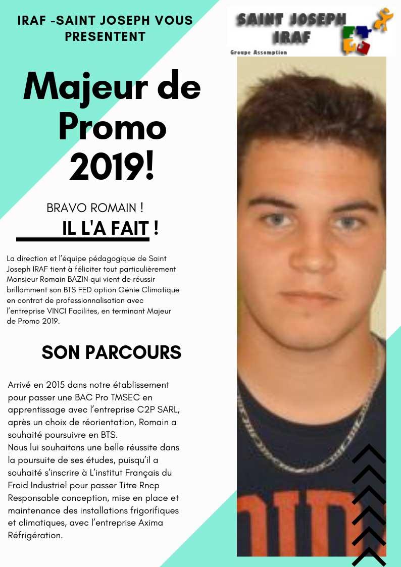 Majeur de promo 2019