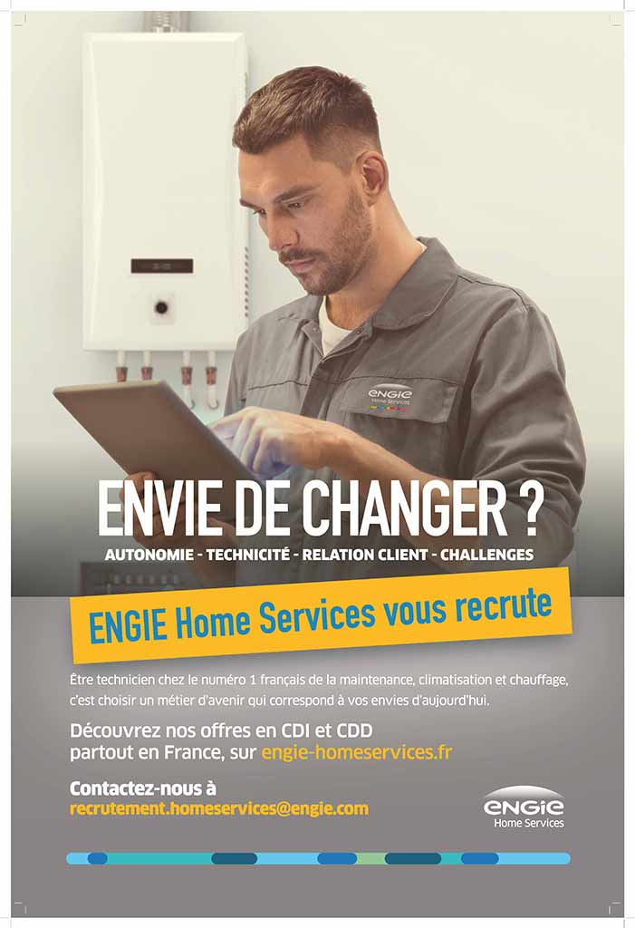 Recrutement ENGIE Home services